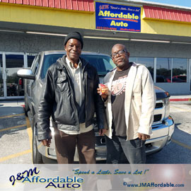 used cars and trucks sold at J&M Affordable Auto