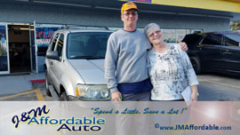 cars sold at J&M Affordable Auto